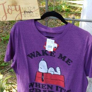 NWT Snoopy print T-shirt